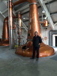 In the Isle of Harris Distillery